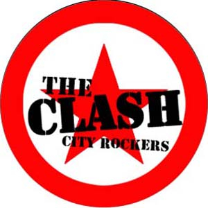Clash, The - City rockers Button