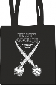 Helmut Cool - Black Flag Stoffbeutel