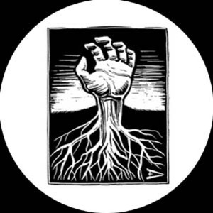 Eric Drooker - Grass roots Button