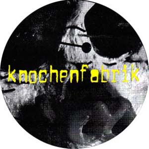 Knochenfabrik Button