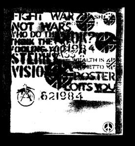 Crass - Fight war not wars Aufnäher