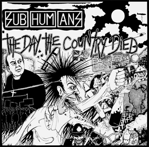 Subhumans - The day the country died Aufnäher