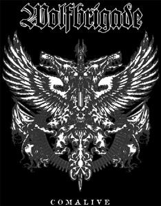 Wolfbrigade - Comalive Aufnäher