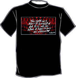 Tragedy - The earth isn`t dying... T-Shirt