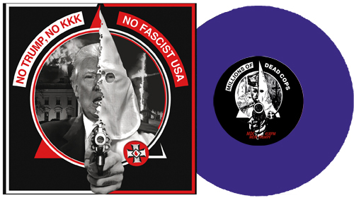 MDC / The Elected Officials Split-7 LIMITIERT LILA VINYL