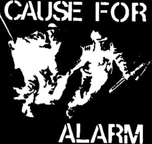 Cause for alarm Aufnäher