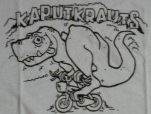 Kaput Krauts - Dino Aufnäher