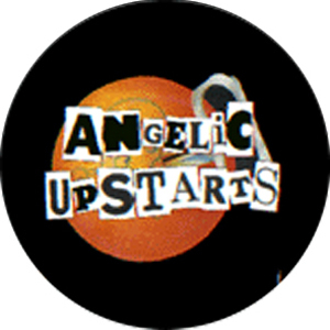 Angelic Upstarts - Logo Button