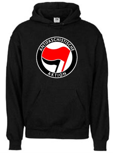 Antifaschistische Aktion Kapuzenpullover
