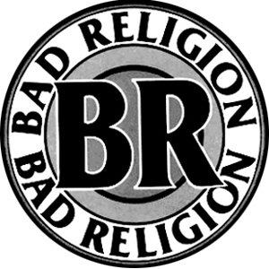 Bad Religion - Old Logo Button