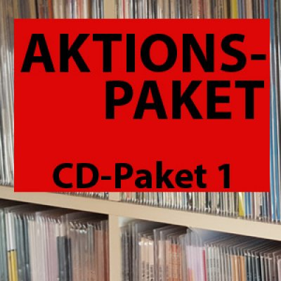 AKTIONSPAKET: 10 CDs für 20 Euro!