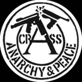 Crass - Anarchy & Peace Button
