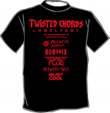 Twisted Chords Labelfest 2019 T-Shirt