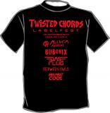Twisted Chords Labelfest [beidseitig] T-Shirt