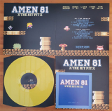 Amen 81 - The Hitpit LP gelbes Vinyl