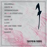 Fliehende Stürme - Himmel steht still LP silbernes Vinyl