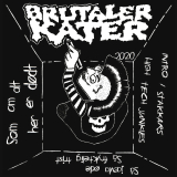 MDC / Brutaler Kater Split-7 LIMITIERT WEISSES VINYL