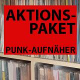 AKTIONSPAKET: 10 Punk-Aufnäher für 6 Euro!