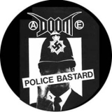 Doom - Police Bastard Button