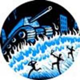 Eric Drooker - Slingshot Button