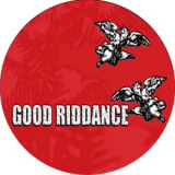 Good Riddance Button