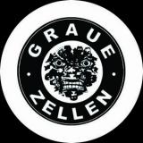 Graue Zellen Button