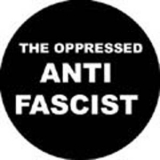 Oppressed, The - Anti fascist Button