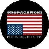 Propagandhi - Fuck right off Button