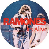 Ramones - It`s alive Button