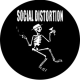 Social Distortion - Logo Button