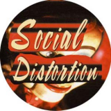 Social Distortion - White light white heat white trash Button