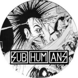 Subhumans - The day the country died Button