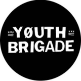 Youth Brigade - Schrift Button