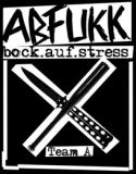 Abfukk - Bock auf Stress Backpatch