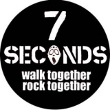 7 Seconds - Walk together rock together Button