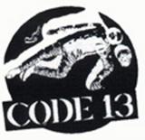 Code 13 - Logo Aufnäher