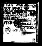 Crass - Fight war not wars Aufnäher