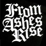 From Ashes Rise - Schriftzug Aufnäher