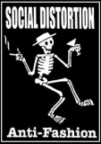 Social Distortion - Anti-Fashion Aufnäher