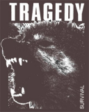 Tragedy - Survival Stoffbeutel