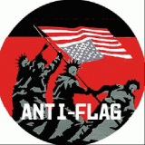 Anti-Flag - Flagge Button