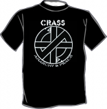 Crass - Anarchy & Peace / Fight war not wars [beidseitig] T-Shirt