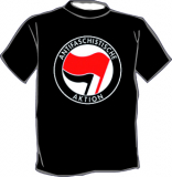 Antifaschistische Aktion T-Shirt
